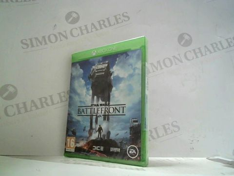 STAR WARS BATTLEFRONT XBOX ONE GAME