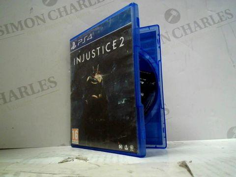 INJUSTICE 2 PLAYSTATION 4 GAME