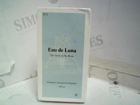 SEALED N02 EAU DE LUNA - THE SMELL OF THE MOON FRAGRANCE - 100ML