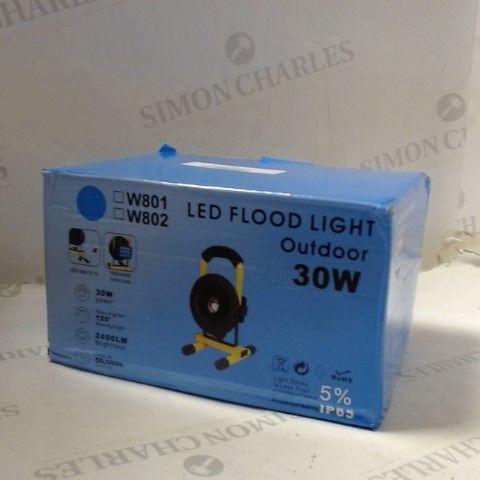 30W LED OUTDOOR FLOOD LIGHT