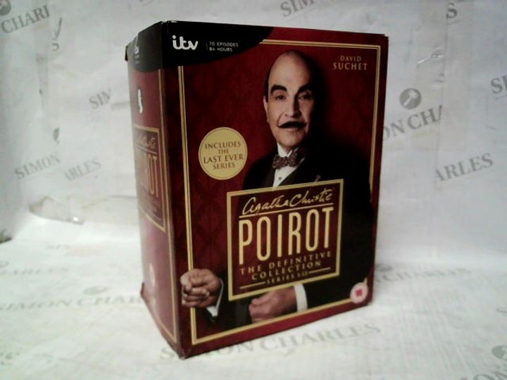AGATHA CHRISTIE'S POIROT THE DEFINITIVE COLLECTION SERIES 1-13 DVD SET