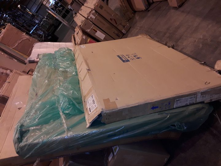4 BOXES OF LIFT UP BED PARTS- 2 MISSING