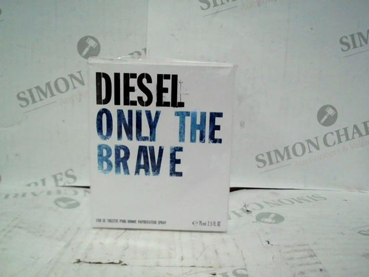 DIESEL ONLY THE BRAVE EDT - 75ML - BRAND NEW SEALED