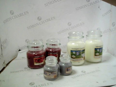 YANKEE CANDLE 6 PIECE ULTIMATE WAX COLLECTION