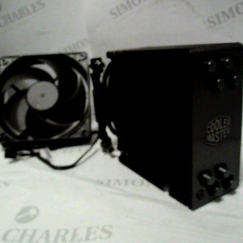 COOLER MASTER HYPER 212 BLACK EDITION CPU COOLING SYSTEM