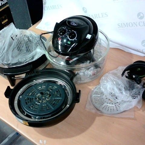 LOT OF 4 ASSORTED HOUSEHOLD ITEMS TO INCLUDE TURTLE BEACH HEADPHONES, QUEST HALOGEN OVEN, INSTANT POT PARTS ETC