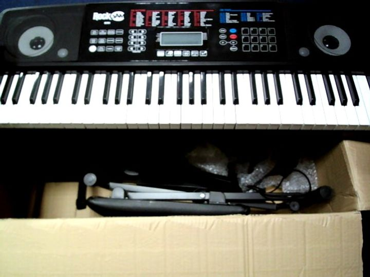 ROCKJAM RJ761-SK KEY ELECTRONIC INTERACTIVE TEACHING PIANO KEYBOARD