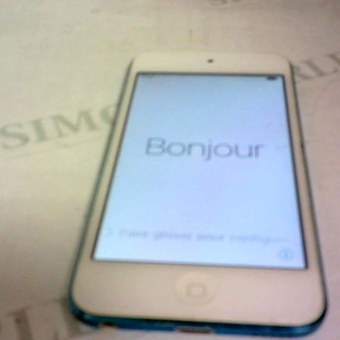 APPLE IPOD TOUCH MODEL A1421 - BLUE