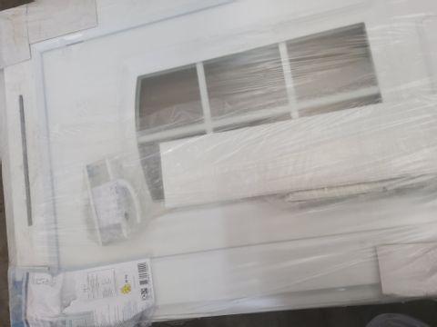 PVCU 2 PANEL GEORGIAN GLAZED FRONT DOOR RH OPENING 2055 × 929 × 70