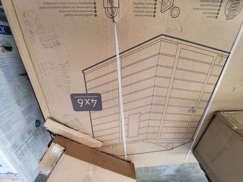BOXED KETER MANOR 4 × 6 MAINTAINANCE FREE SHED