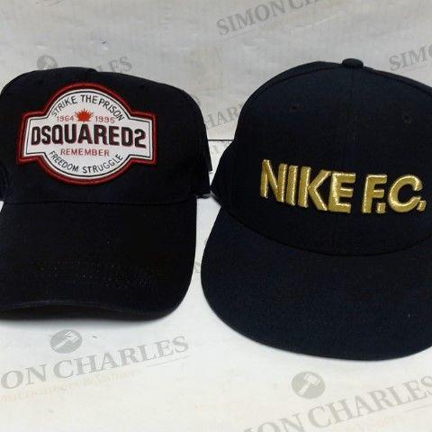 DSQUARED & NIKE F.C. CAPS