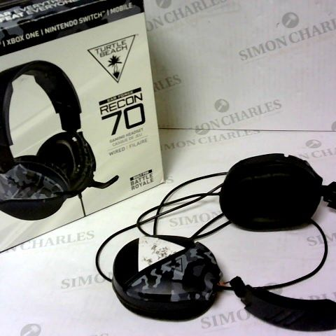 TURTLE BEACH EAR FORCE RECON 70 WIRED GAMING HEADSET
