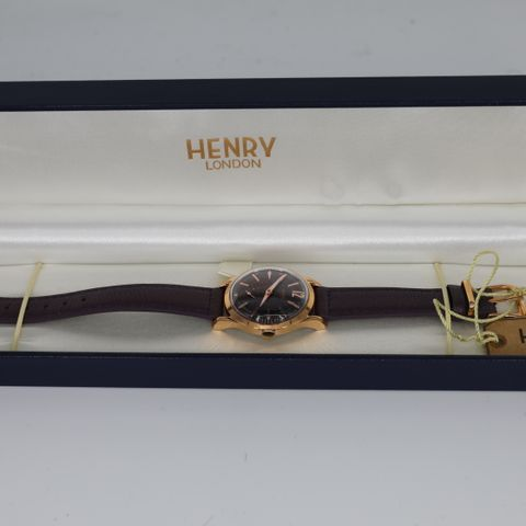 BRAND NEW BOXED HENRY LONDON HL30-US-0076 HAMPSTEAD WATCH