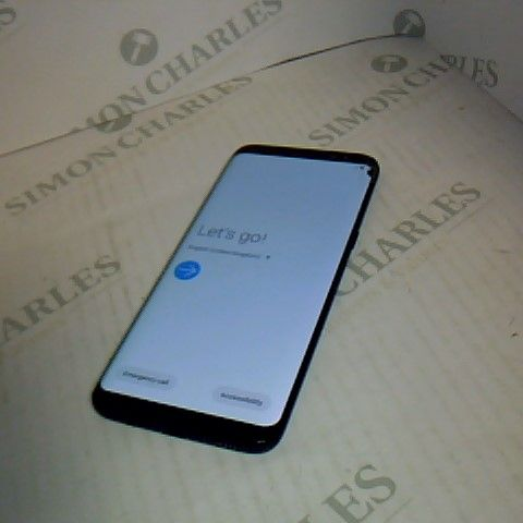 SAMSUNG GALAXY S8 ANDROID SMART PHONE - SM-G950F - POWERS ON