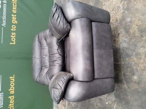 QUALITYG PLAN WEXCOMBE REGENT CHARCOAL POWER RECLINING EASY CHAIR