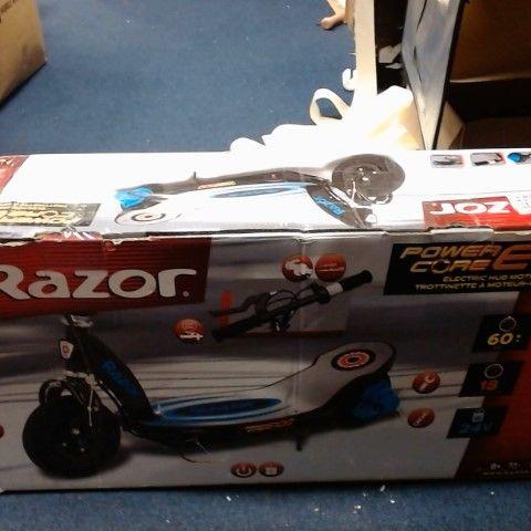 RAZOR POWERCORE E100 ELECTRIC VSCOOTER BLUE