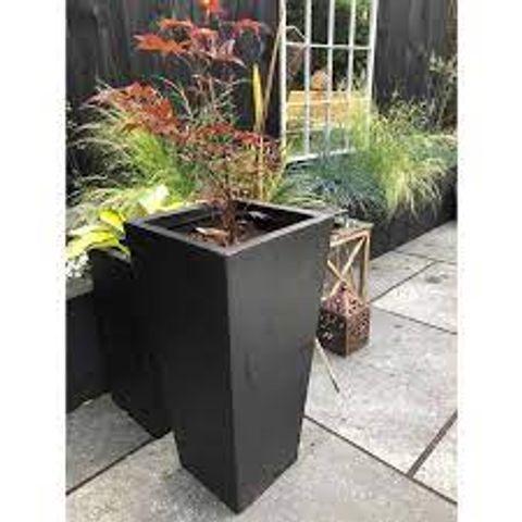 BOXED DUPREE RESIN PLANT POT (1 BOX)