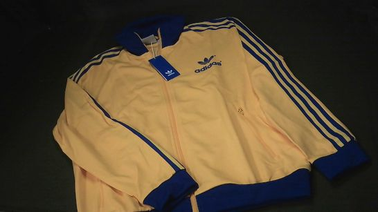 ADIDAS 70'S TRACKTOP IN YELLOW - UK L