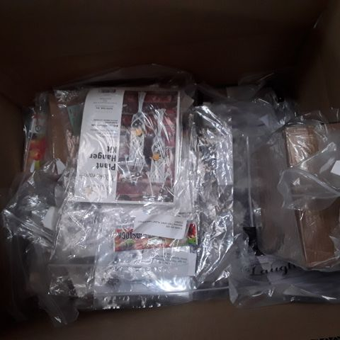 BOX OF APPROXIMATELY 60 ASSORTED CRAFT ITEMS