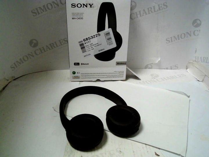 SONY WH-CH510 WIRELESS HEADPHONES