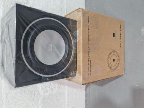DALI E9F SUBWOOFER - SATIN BLACK