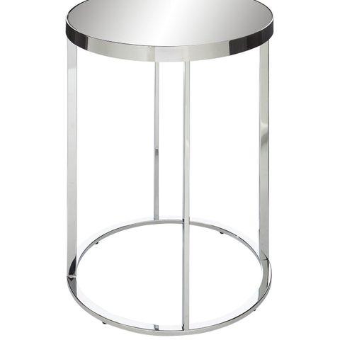 BOXED GABRIELLA MIRRORED LAMP TABLE