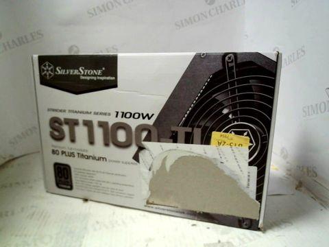 SILVERSTONE SPIDER TITANIUM SERIES 1100W POWER SUPPLY