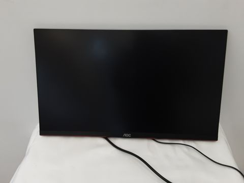 AOC 24G2U/BK 23.8 INCH WIDESCREEN IPS LED BLACK AND RED GAMING MONITOR