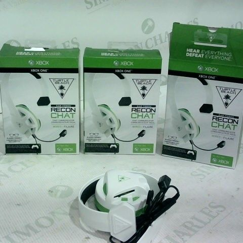 3 X TURTLE BEACH EARFORCE RECON CHAT WIRED HEADSET