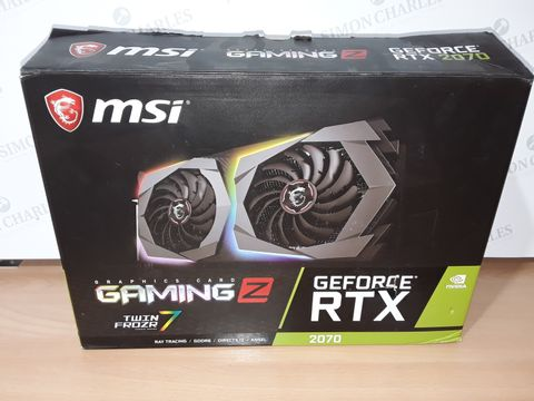 MSI GEFORCE RTX 2070 GAMING Z 8G GRAPHICS CARD