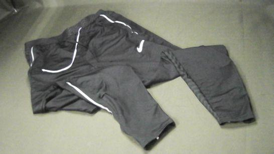 NIKE DRI-FIT BLACK TRAINING PANTS - M