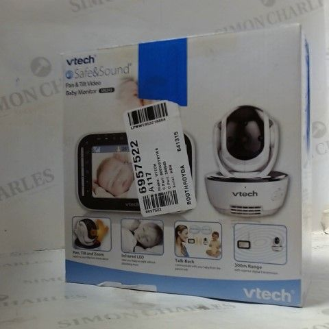 VTECH SAFE AND SOUND PAN AND TILT BABY MONITOR VM343