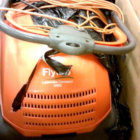 FLYMO LAWNRAKE COMPACT 3400 ELECTRIC LAWNRAKE