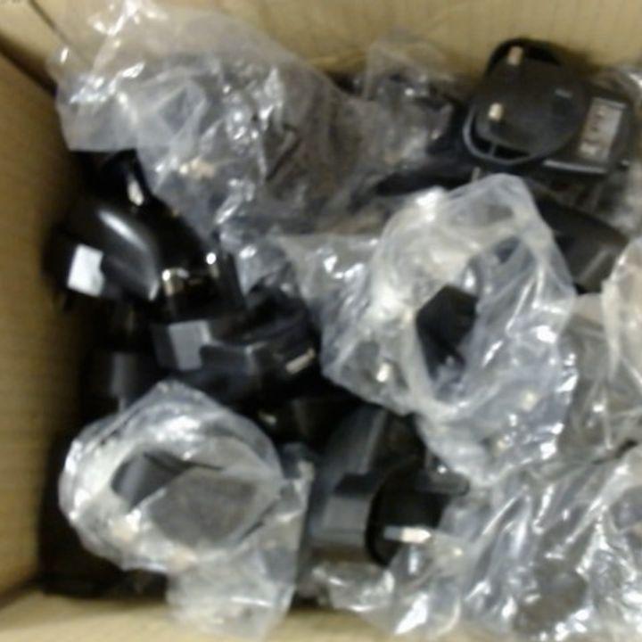 LOT OF APPROXIMATELY 47 FRESHCIG USB MAINS CHARGER PLUGS