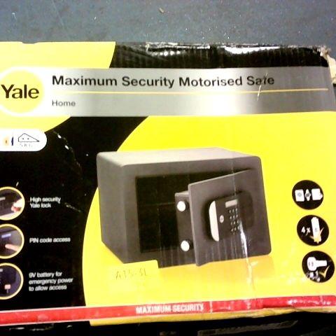 YALE MAXIMUM SECURITY MOTORISED SALE