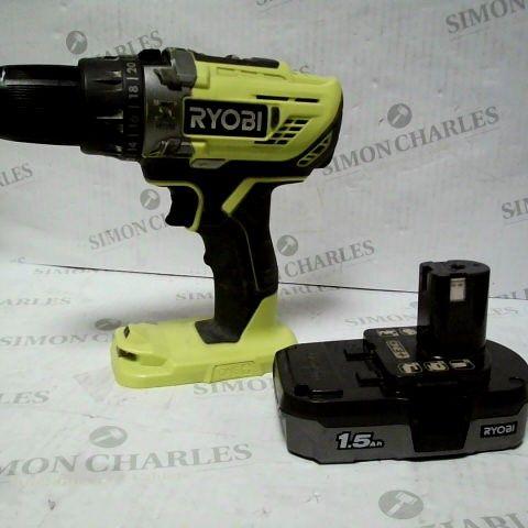 RYOBI R18PD3-215GZ 18 V ONE+ CORDLESS COMBI DRILL