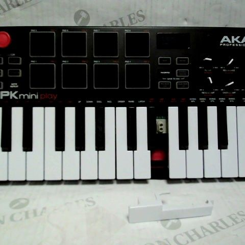 AKAI PROFESSIONAL MPK MINI PLAY 25-NOTE PIANO STYLE KEYBOARD AND USB MIDI CONTROLLER