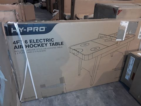 BOXED GRADE 1 HYPRO 4'6 ELECTRIC AIR HOCKEY TABLE