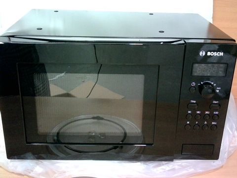 BOSCH SERIE 2 FREESTANDING 800W MICROWAVE OVEN, 17 LITRES, BLACK