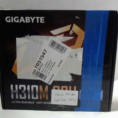 GIGABYTE H310M S2H SOCKET 1151/H370/DDR4/S-ATA MOTHERBOARD