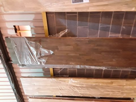DESIGNER SOLID 40MM THICK WORKTOP APPROXIMATELY 3M