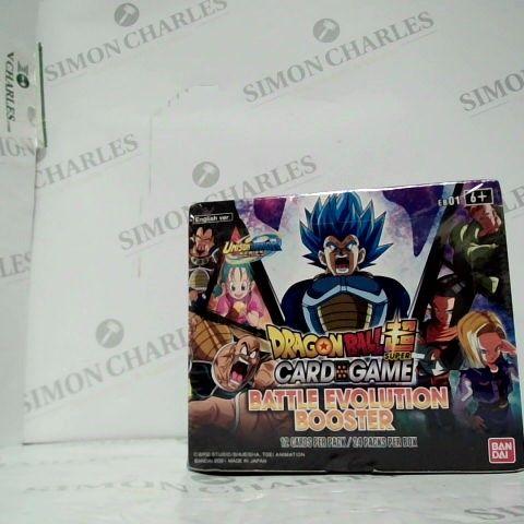 DRAGON BALL SUPER CARD GAME, BATTLE EVOLUTION BOOSTER