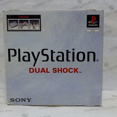 SONY PLAYSTATION DUAL SHOCK CONSOLE