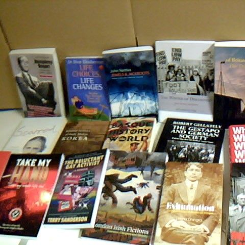 ASSORTMENT OF 16 BOOKS TO INCLUDE HISTORY AND MEMOIR BOOKS