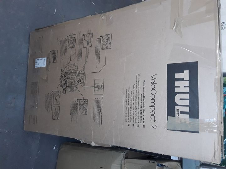 THULE 925001, VELO COMPACT 925, 2 BIKE, TOWBALL CARRIER, 7 PIN