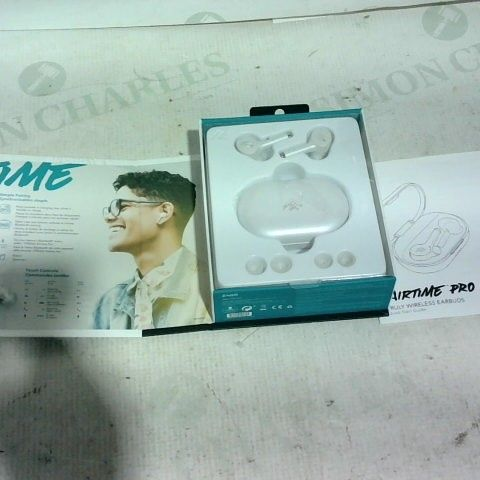 BOXED IFROGZ AIRTIME PRO TRULY WIRELESS EARBUDS