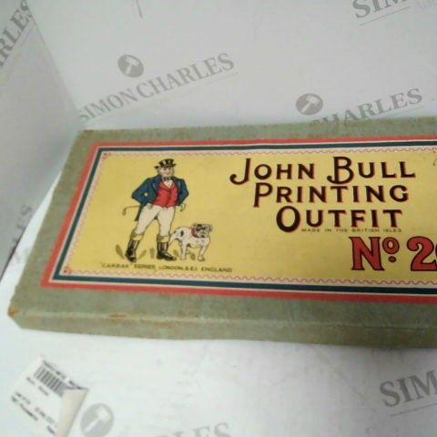 JOHN BULL PRINTING OUTFIT NO.20