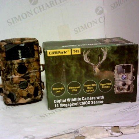 CAMPARK T45 DIGITAL WILDLIFE CAMERA WITH 14 MEGAPIXEL CMOS SENSOR