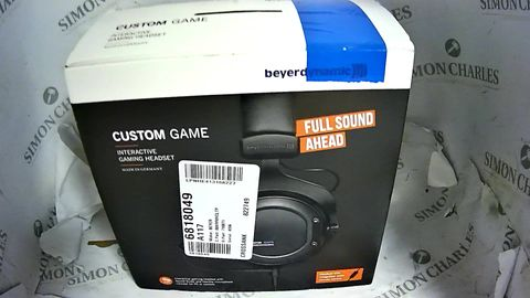 BEYERDYNAMIC CUSTOM GAME HEADPHONES