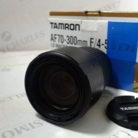 TAMRON AF70-300MM LD MACRO 1:2 CAMERA LENS FOR CANON
